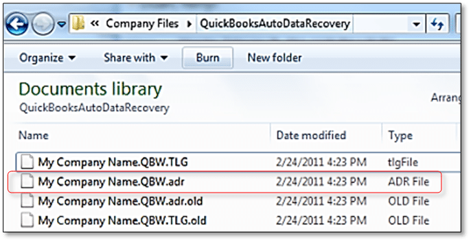 Auto data recovery 3- Screenshot