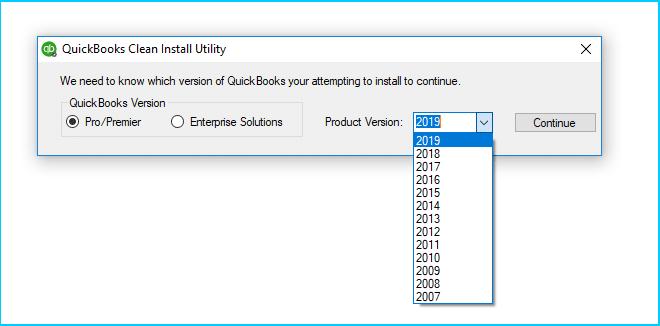 Clean Install Utility - Screenshot Image