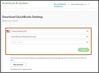 Download QuickBooks desktop - Screenshot
