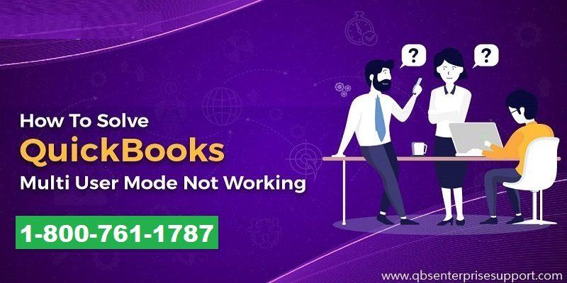 Fix QuickBooks Multi User-Mode Not Working Error - Featured Image