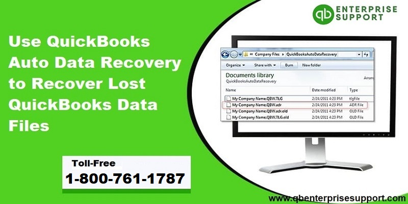 How to Use QuickBooks Auto Data Recovery and How to Recover Lost Data Files - Featured Image