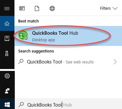 QuickBooks Tool Hub - Screenshot