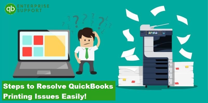 What are QuickBooks Printing Problems and How to Resolve them - Featured Image