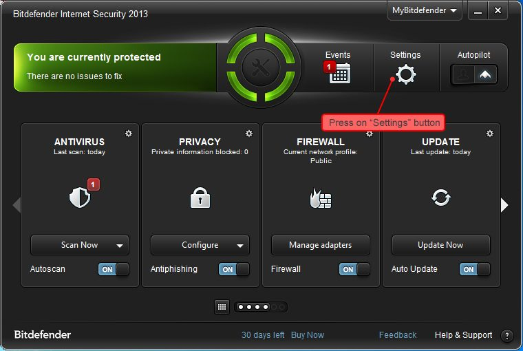 Bitdefender-screenshot