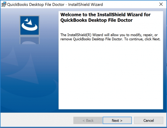 Download and Rub QBFD from Intuit's official site - Screenshot