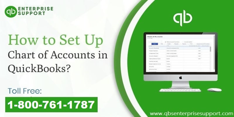 Steps to Set up a Chart of Accounts in QuickBooks