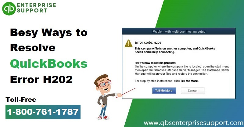 Fix QuickBooks Error H202 in Few Simple Steps - Featured Image