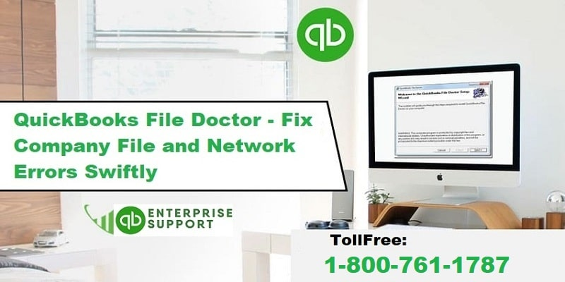 How to Download and Use QuickBooks File Doctor tool - Featured Image