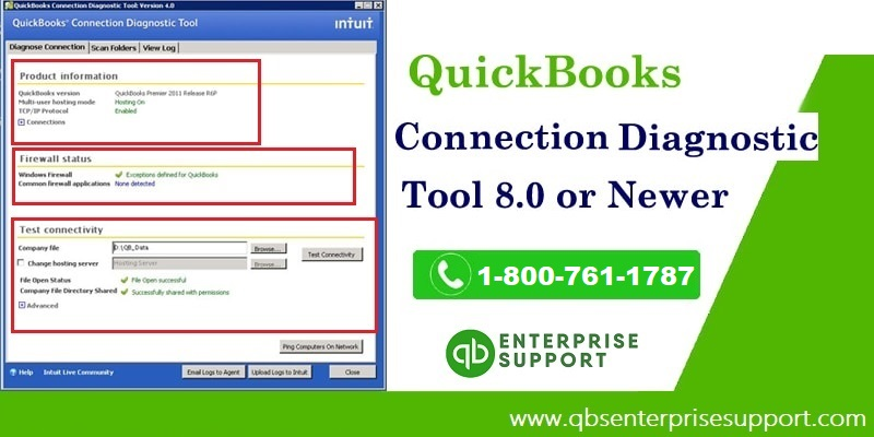 QuickBooks Connection Diagnostic Tool – A Quick User Guide