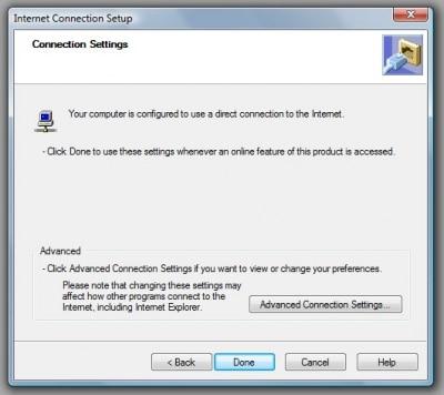 Internet connection setup 2-screenshot