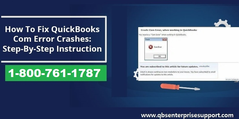 How to tackle QuickBooks Crash com error?