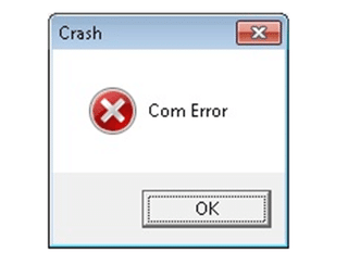 QuickBooks crash com error - Screenshot