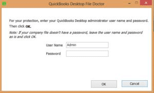 Steps to use File doctor tool - Screenshot