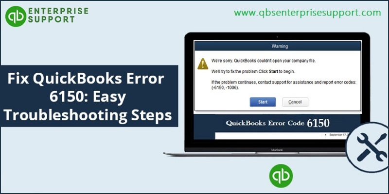 How to Fix QuickBooks Error Code 6150 -1006?