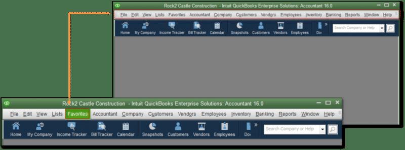 Suppress QuickBooks desktop- screenshot image