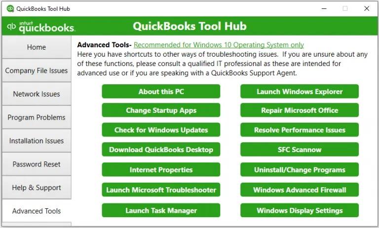 Advanced tools-screenshot