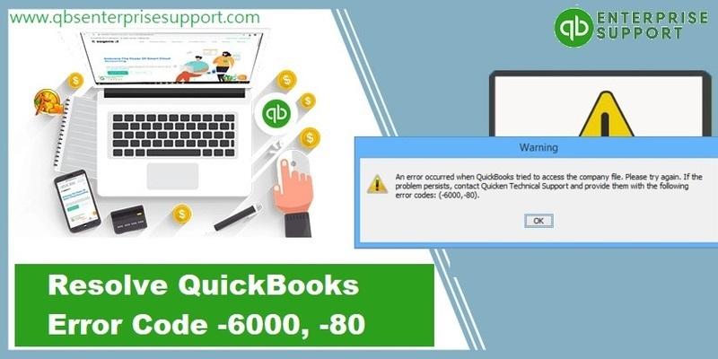 Fixation of QuickBooks Error Code 6000 80 - Featured Image