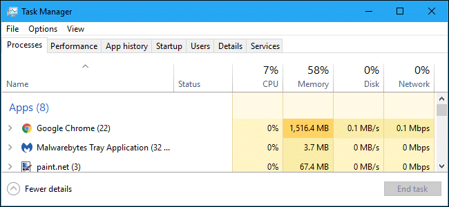 Open Task Manager - Screenshot