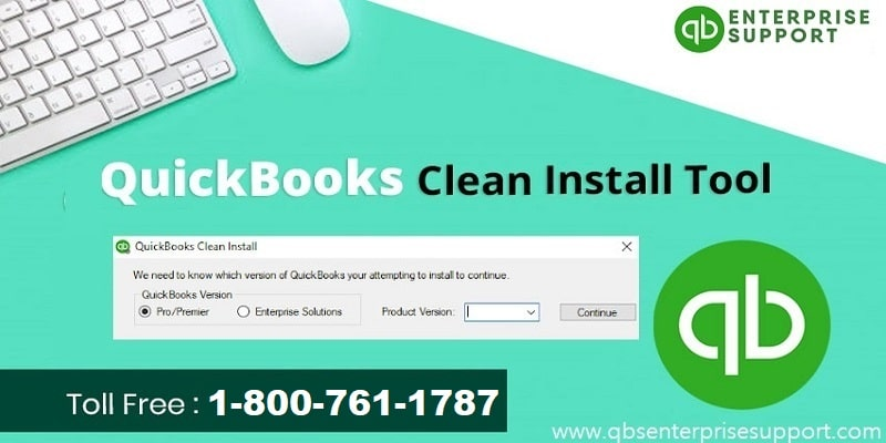 Perform a Clean Installation of QuickBooks Desktop for Windows - Featured Image