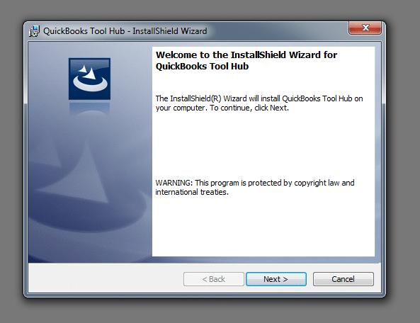 QuickBooks Tools Hub Installation - Screenshot 1