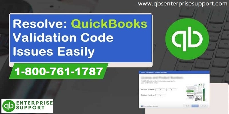 Fix QuickBooks Validation Code is Incorrect or This Service is Temporarily Unavailable Error