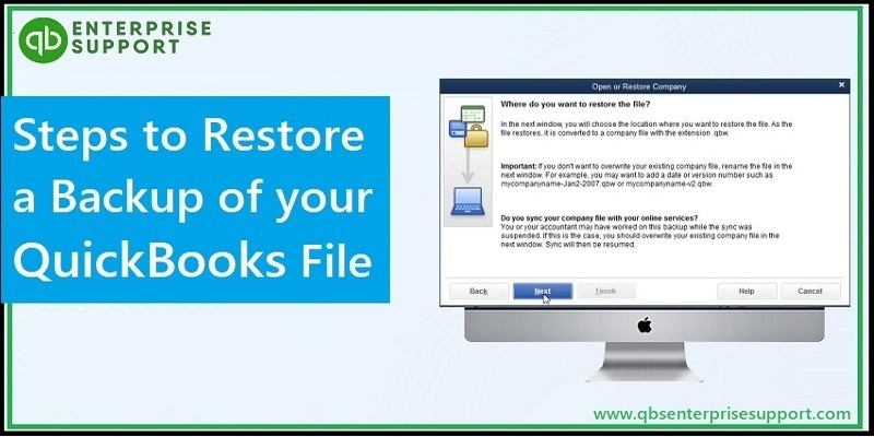 Best Steps to Restore a QuickBooks Company File - Featured Image