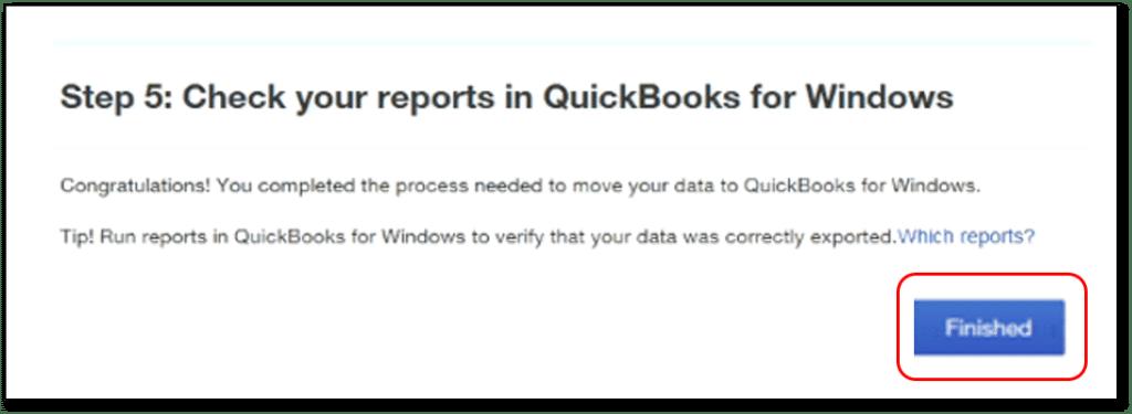 Convert QuickBooks online to desktop- screenshot 2