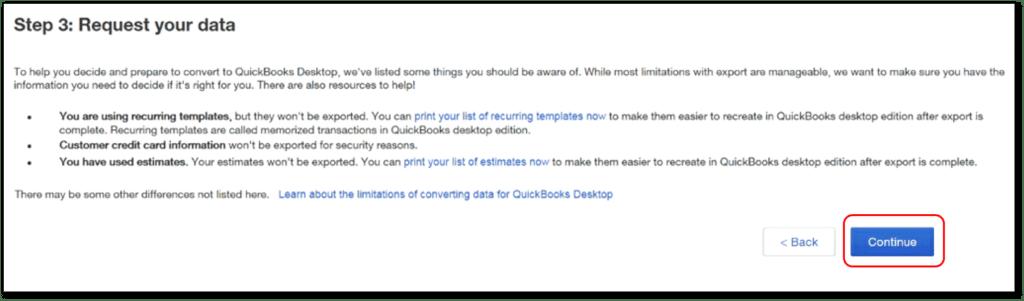Convert QuickBooks online to desktop- screenshot 6