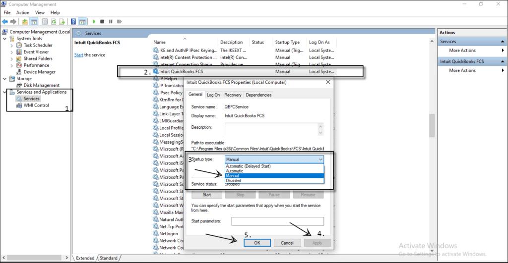 QuickBooks Desktop FCS - Screenshot