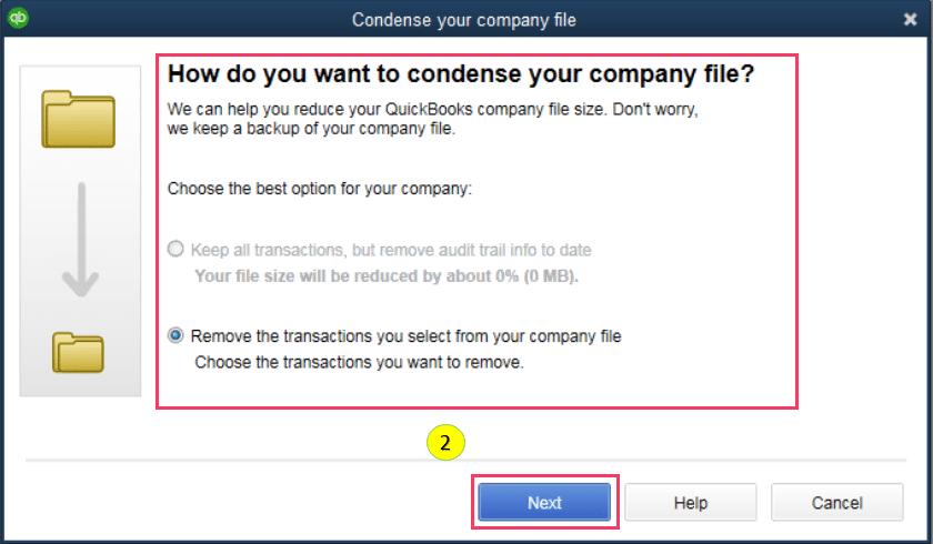 Spot for non-condensable transactions - Screenshot 2