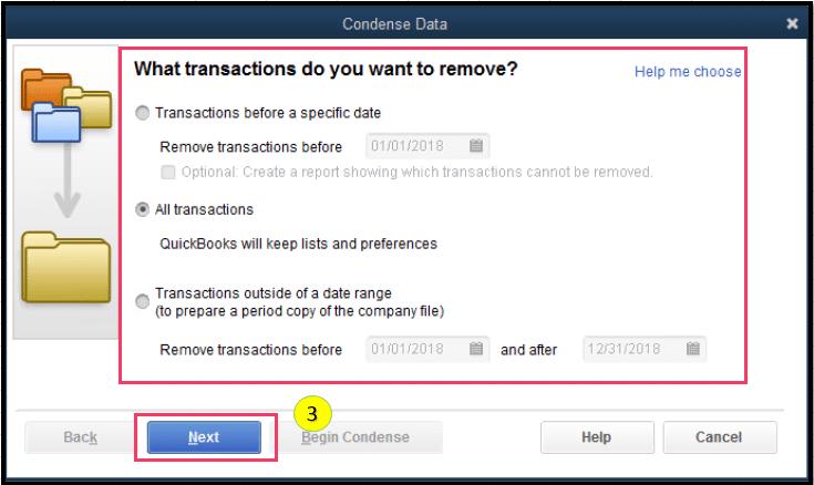 Spot for non-condensable transactions - Screenshot 3