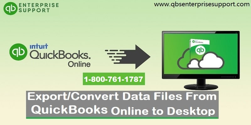 How to Convert/Move QuickBooks Online Data Files to Desktop?