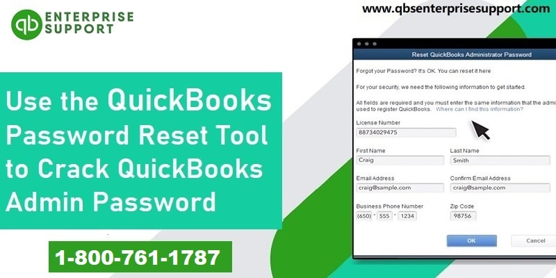 Use QuickBooks Automated Password Reset Tool to Crack Admin Password - Featured Image