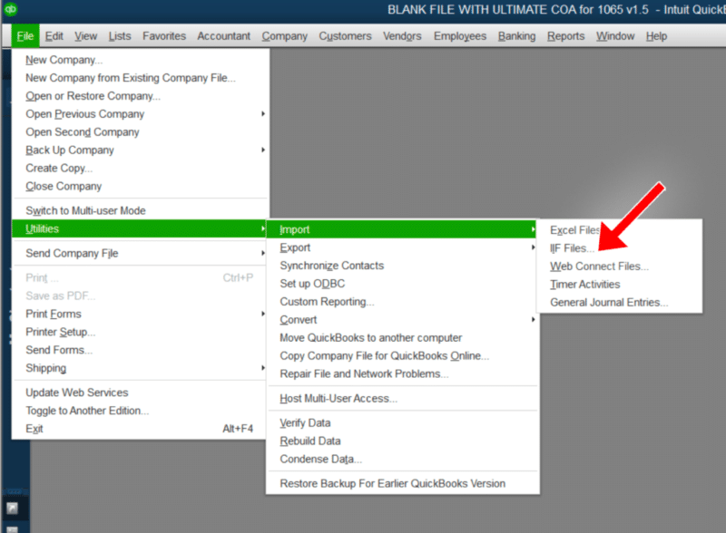 Exporting the file to excel - Screenshot