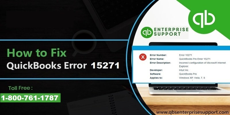 Fix QuickBooks Payroll Error 15271 (Maintenance Release and Update Error) - Featured Image