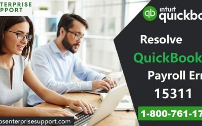 How to fix QuickBooks Payroll Update Error 15311?