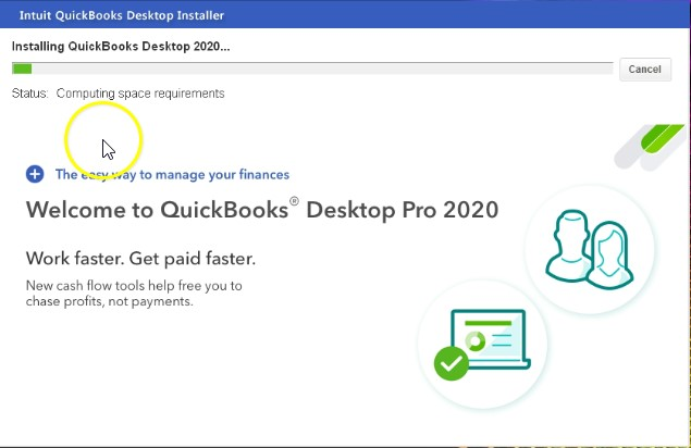 Install QuickBooks desktop 2020 - Screenshot