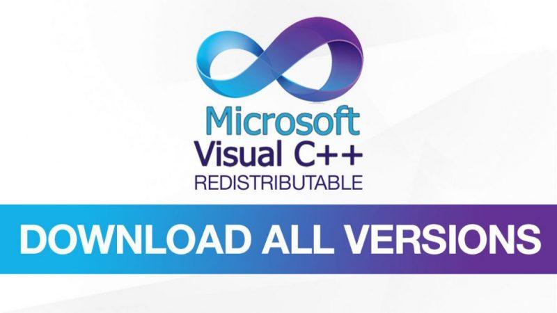 Microsoft visual C++ Redistributable- screenshot
