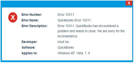 How to Resolve QuickBooks Update Error 15311 - Featured Image