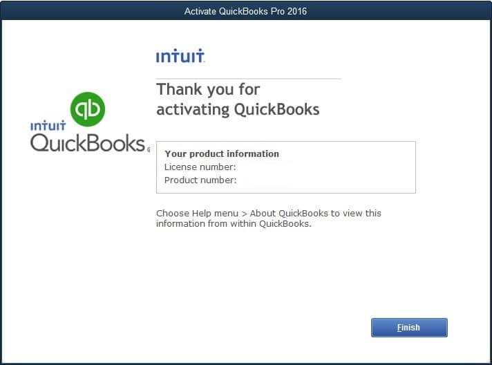 Activation Success Message - Screenshot