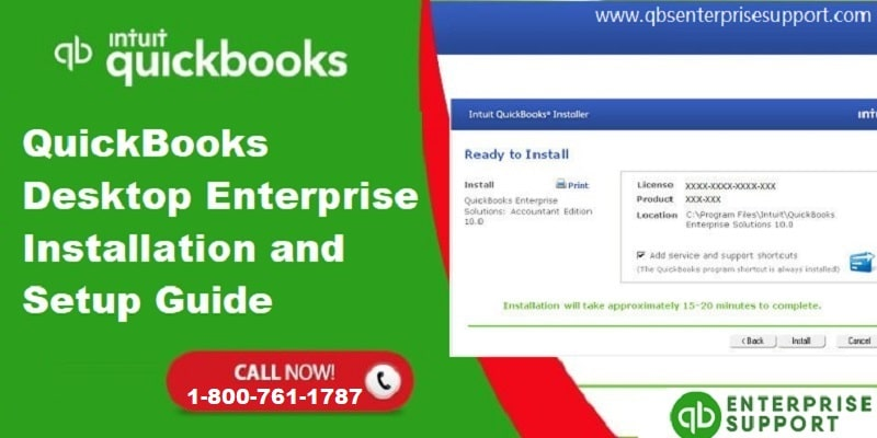 How to Install and Setup for QuickBooks Desktop Enterprise?