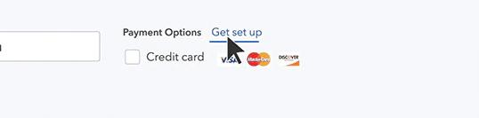 Set Up Online Payments - Screenshot