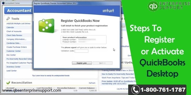 How to Register or Activate QuickBooks Desktop?