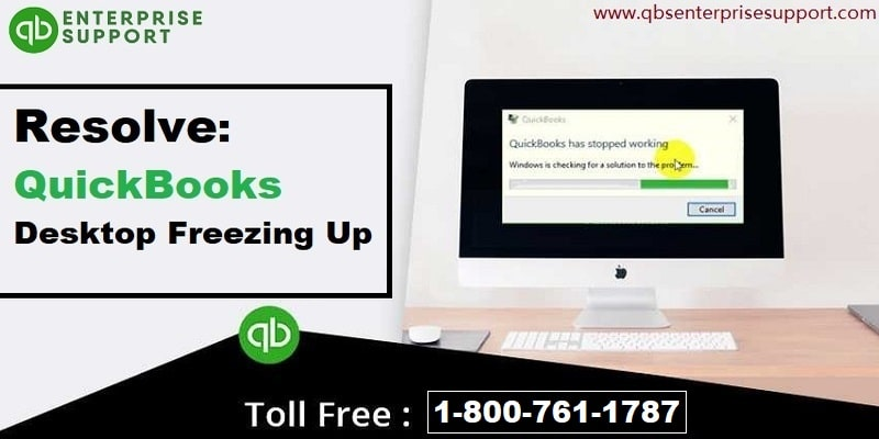 How to fix QuickBooks desktop freezing up problem?