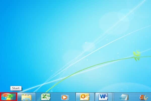 Windows start menu-screenshot