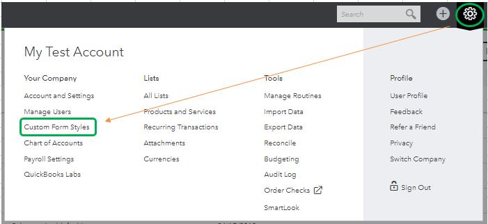 Create invoices-screenshot