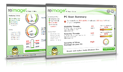 Reimage PC Repair Tool - Screenshot