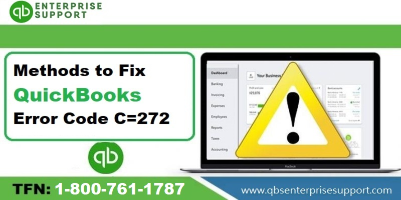 What is QuickBooks Error C=272 and How you can solve It - Featuring Image