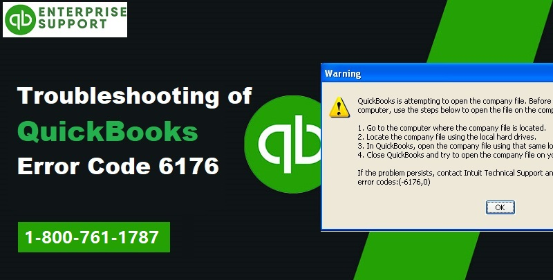QuickBooks Error 6176 (Couldn't Connect to Email Server) - Featuring Image