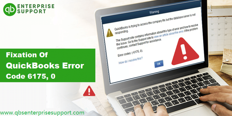 Methods to Troubleshoot the QuickBooks Error Code 6175, 0 - Featuring Image